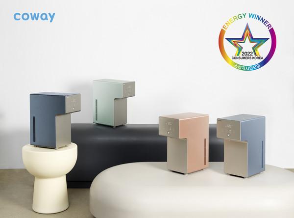 코웨이 아이콘 정수기, '올해의 에너지위너상' 수상